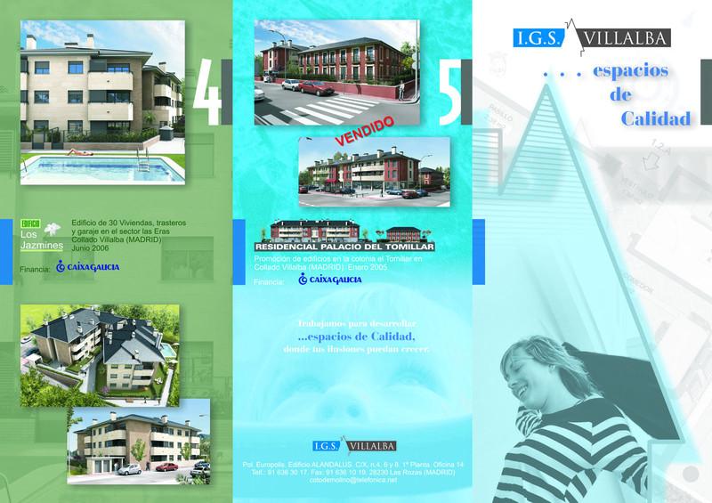 Agl infograf a madrid folletos comerciales for Constructoras sabadell