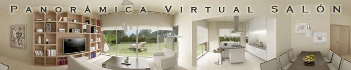 panorámica 3d virtual salón 360º