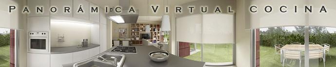 panorámica 3d virtual COCINA 360º